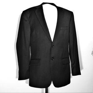 Jos A Bank Black Sport coat, Traveler's Collection